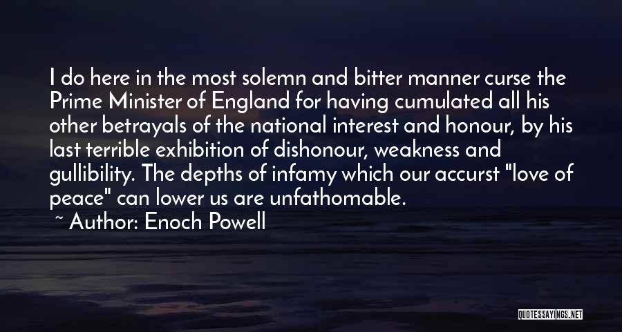 Exhibitions Quotes By Enoch Powell