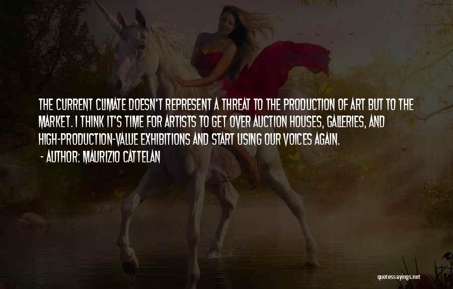 Exhibitions Quotes By Maurizio Cattelan