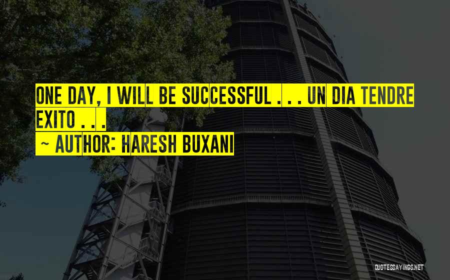 Exito Quotes By Haresh Buxani
