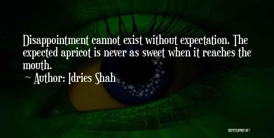 Expectation And Disappointment Quotes By Idries Shah