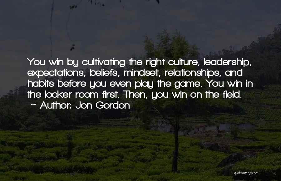 Expectations In Relationships Quotes By Jon Gordon