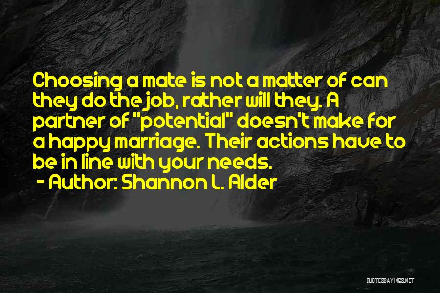 Expectations In Relationships Quotes By Shannon L. Alder