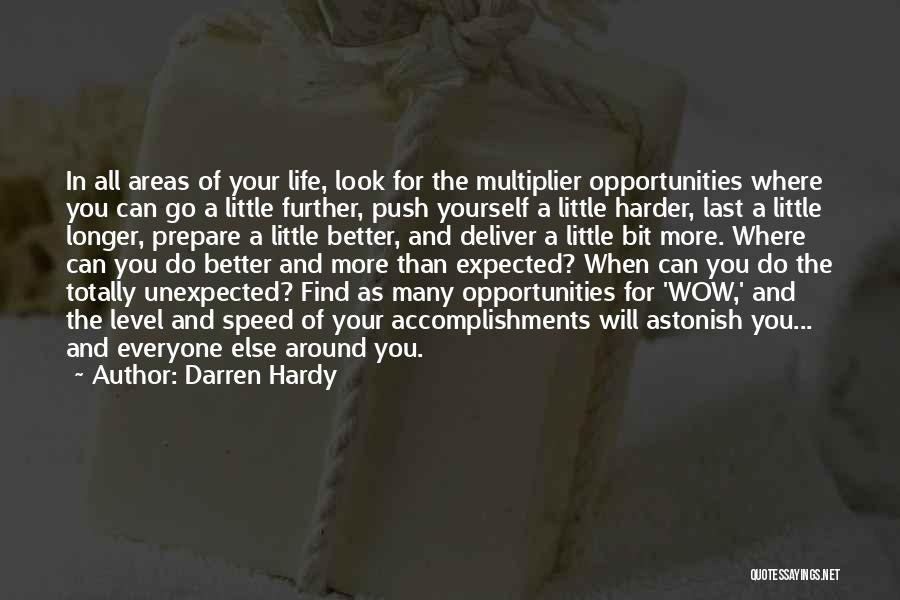 Expected Unexpected Quotes By Darren Hardy