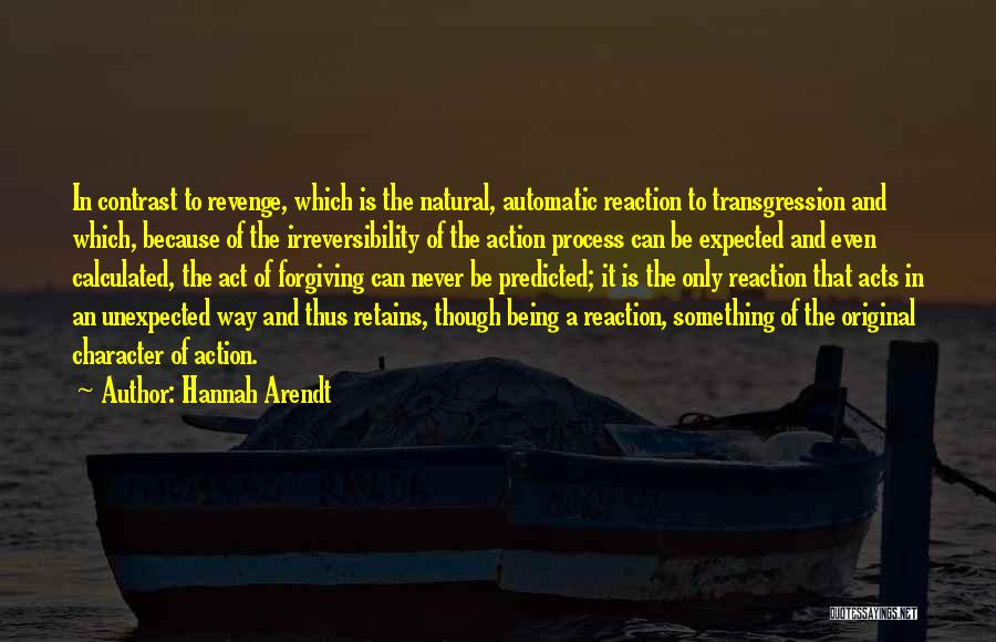 Expected Unexpected Quotes By Hannah Arendt