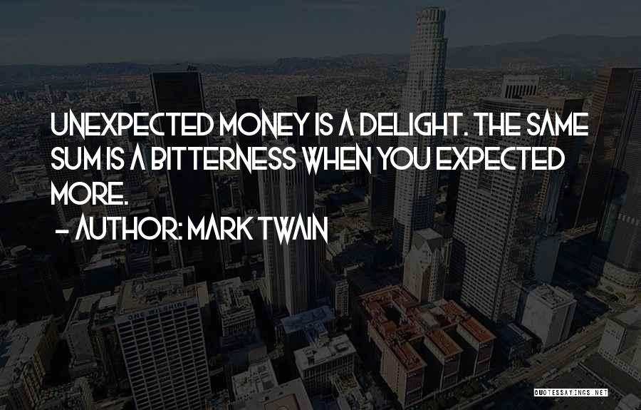Expected Unexpected Quotes By Mark Twain