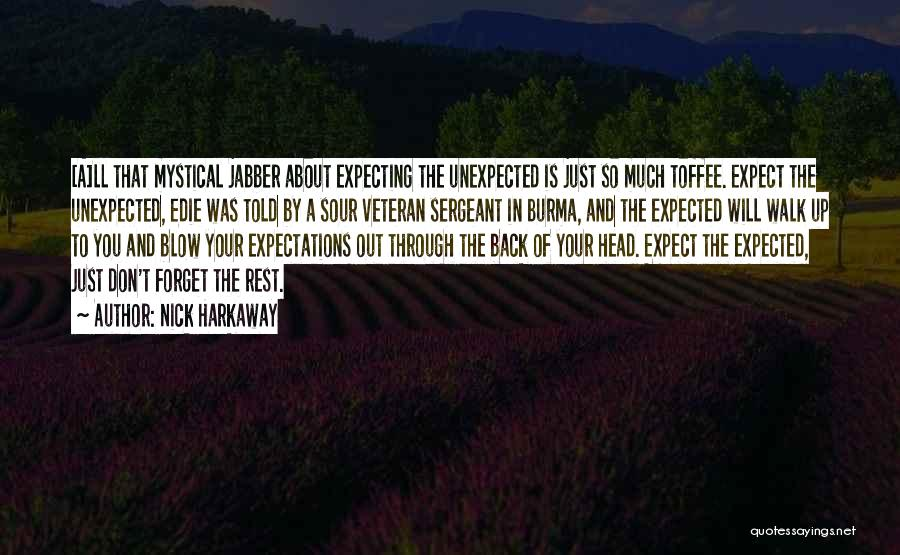 Expected Unexpected Quotes By Nick Harkaway