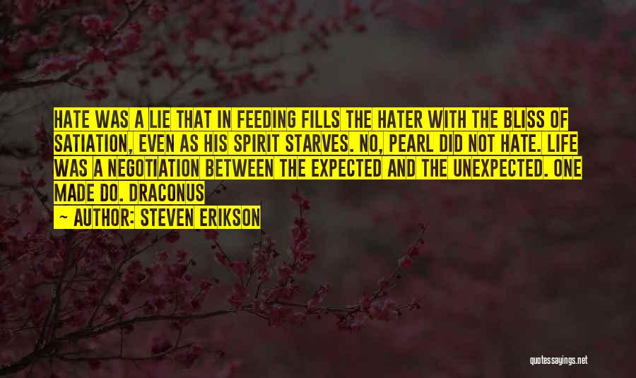 Expected Unexpected Quotes By Steven Erikson