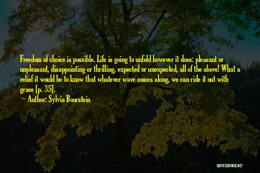 Expected Unexpected Quotes By Sylvia Boorstein