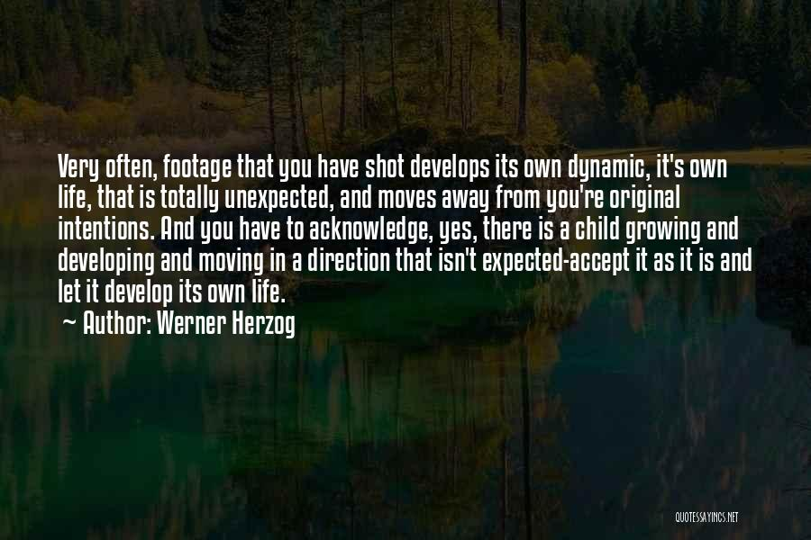 Expected Unexpected Quotes By Werner Herzog