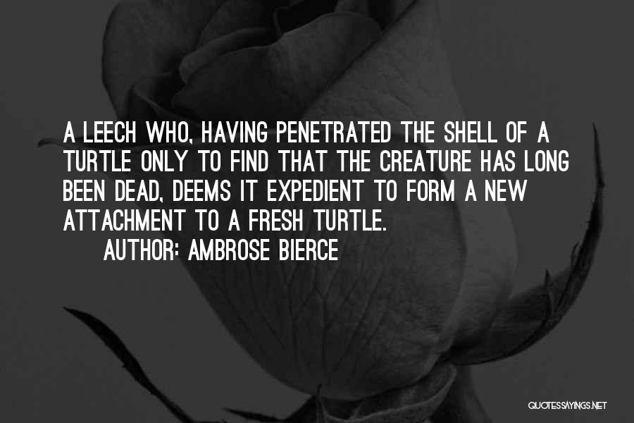 Expedient Quotes By Ambrose Bierce