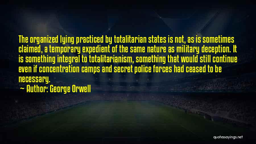 Expedient Quotes By George Orwell