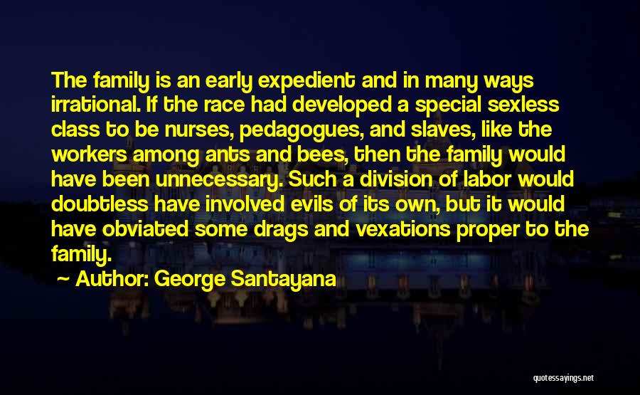 Expedient Quotes By George Santayana