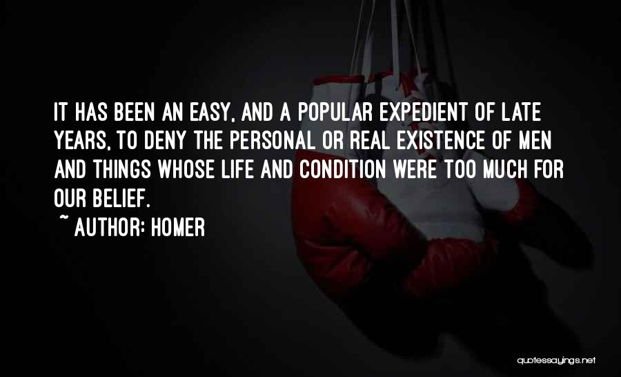 Expedient Quotes By Homer