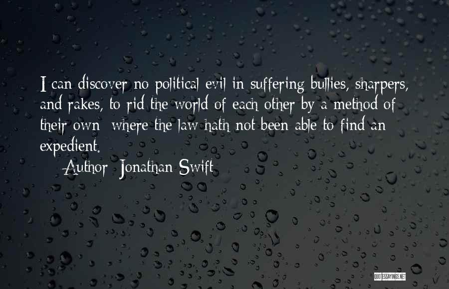 Expedient Quotes By Jonathan Swift