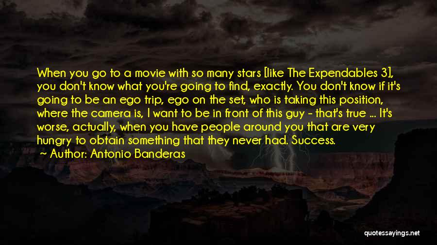 Expendables 3 Best Quotes By Antonio Banderas