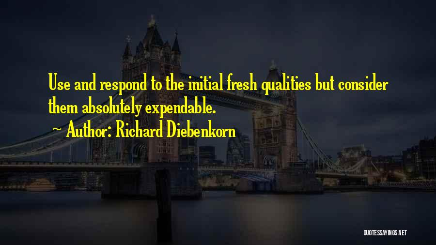 Expendables 3 Best Quotes By Richard Diebenkorn