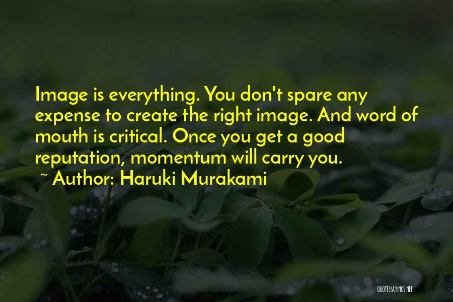Expense Quotes By Haruki Murakami