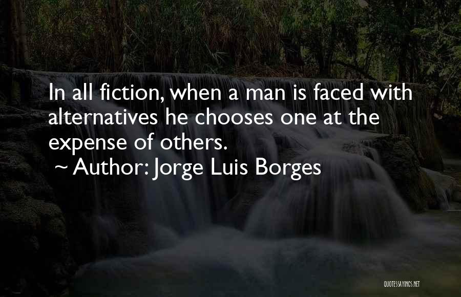 Expense Quotes By Jorge Luis Borges