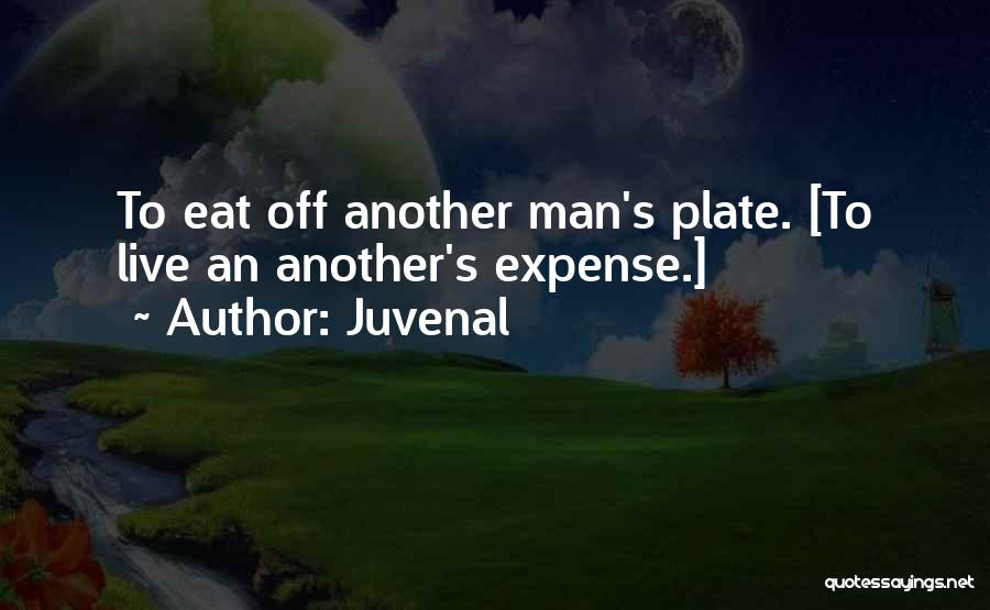 Expense Quotes By Juvenal