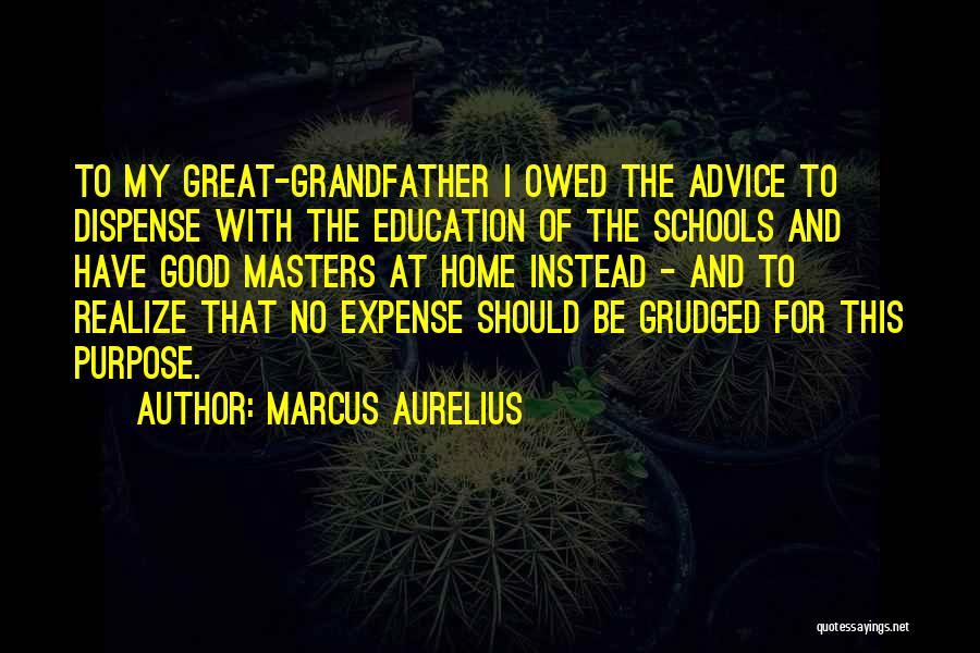 Expense Quotes By Marcus Aurelius