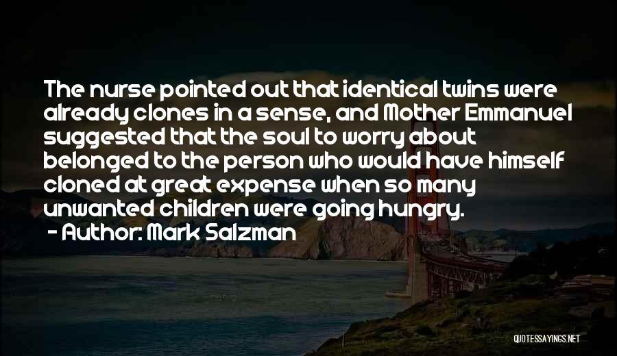 Expense Quotes By Mark Salzman