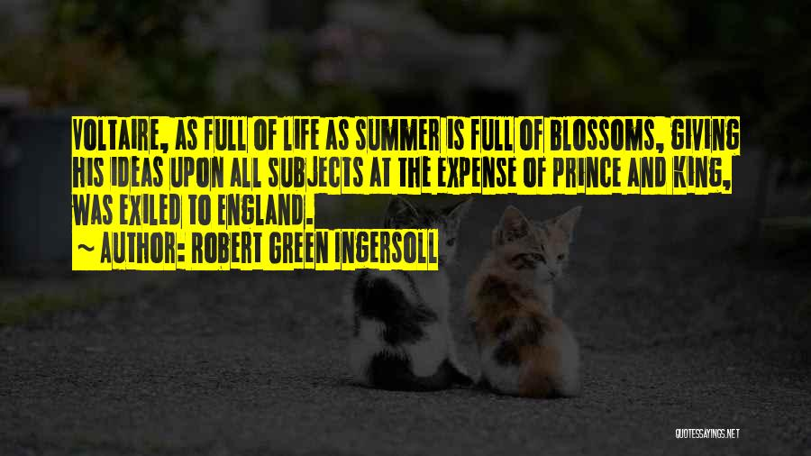 Expense Quotes By Robert Green Ingersoll