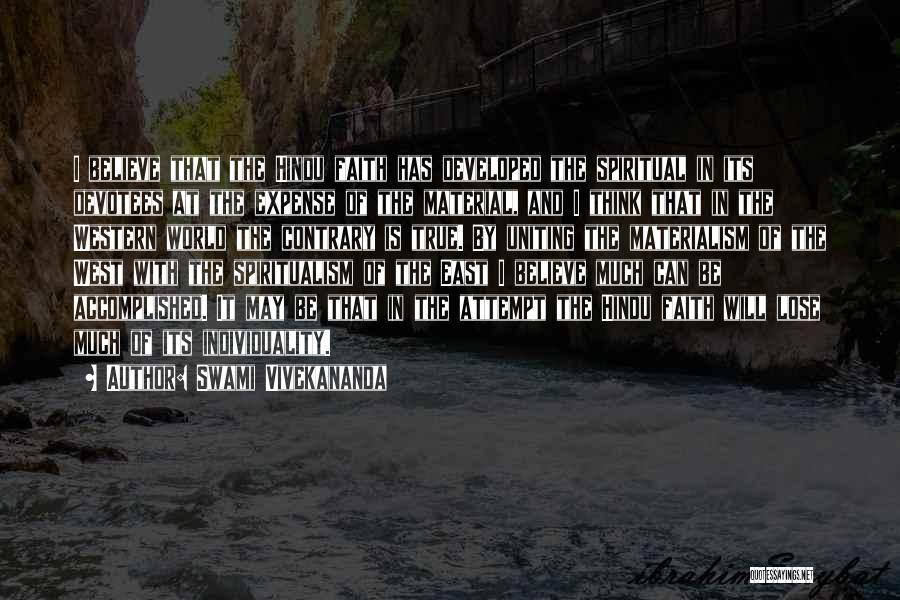 Expense Quotes By Swami Vivekananda