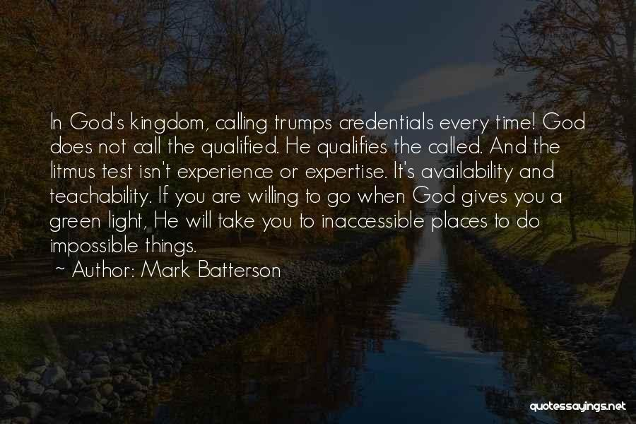 Experience Expertise Quotes By Mark Batterson
