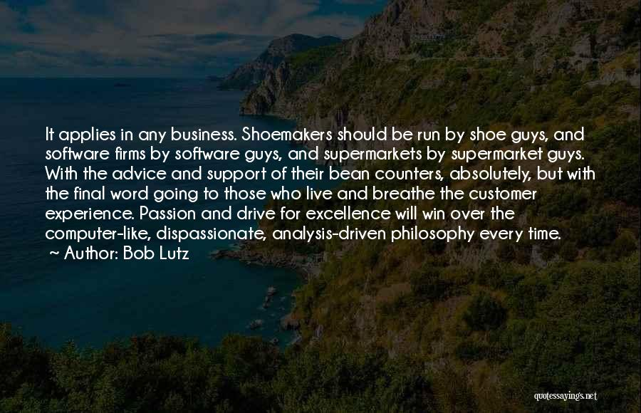 Experience In Business Quotes By Bob Lutz