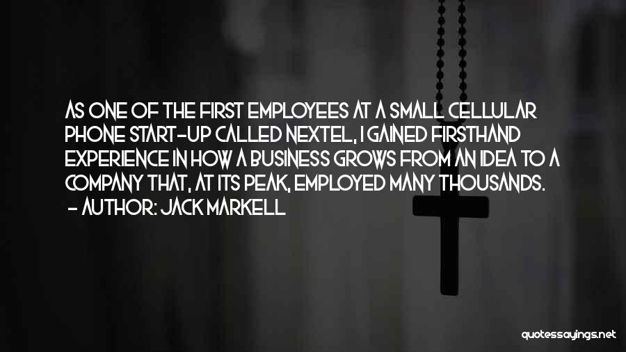 Experience In Business Quotes By Jack Markell