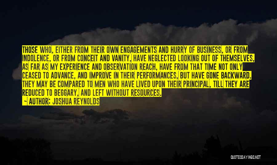 Experience In Business Quotes By Joshua Reynolds