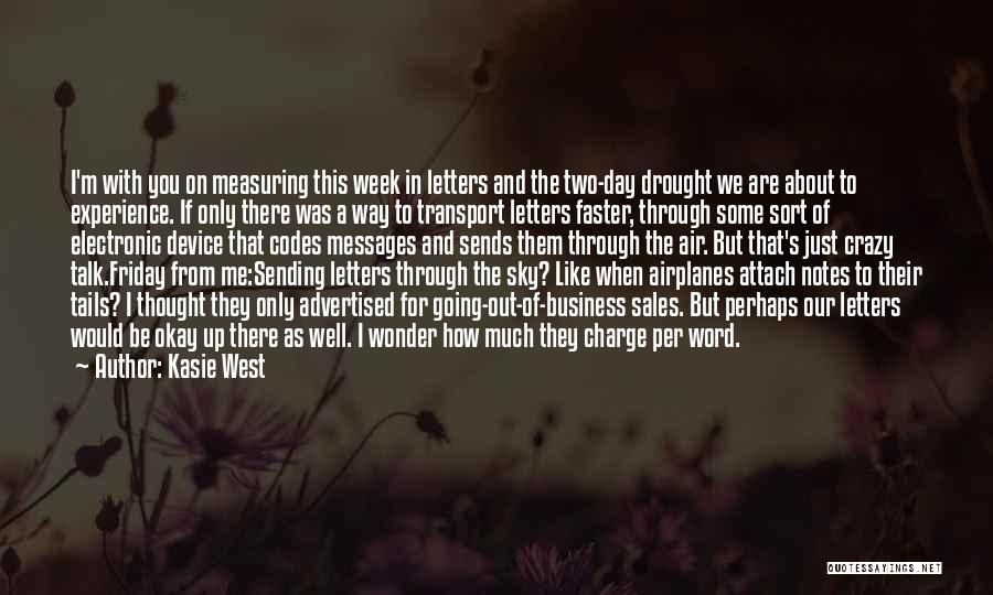 Experience In Business Quotes By Kasie West