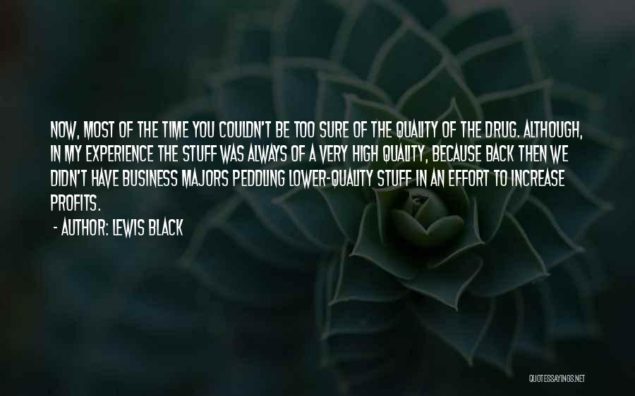 Experience In Business Quotes By Lewis Black