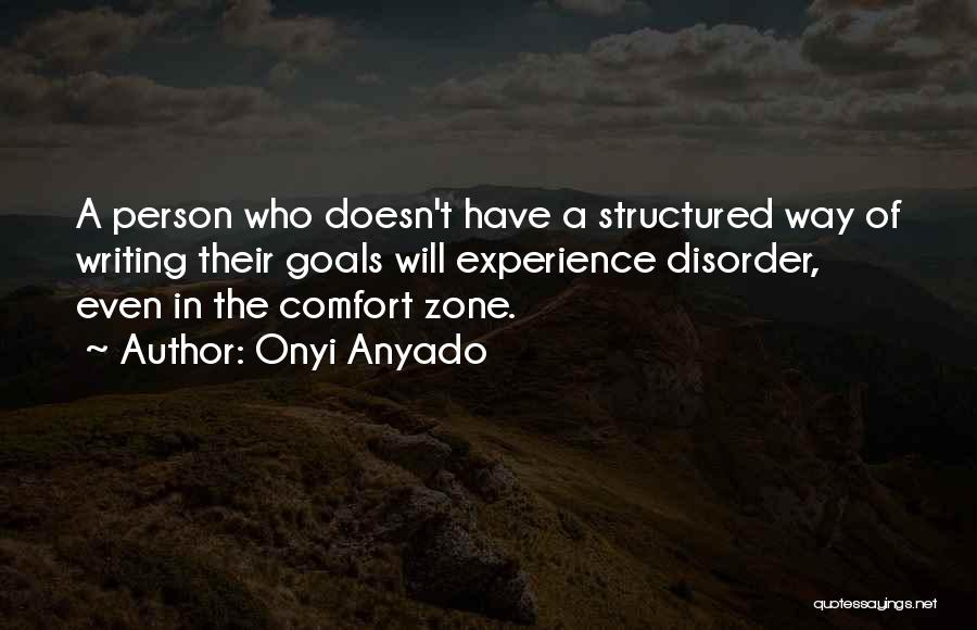 Experience In Business Quotes By Onyi Anyado