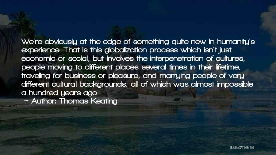 Experience In Business Quotes By Thomas Keating
