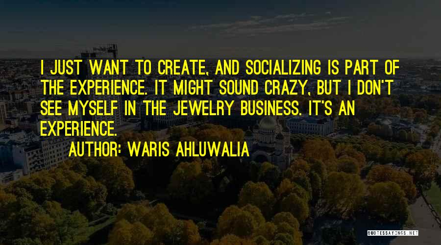 Experience In Business Quotes By Waris Ahluwalia