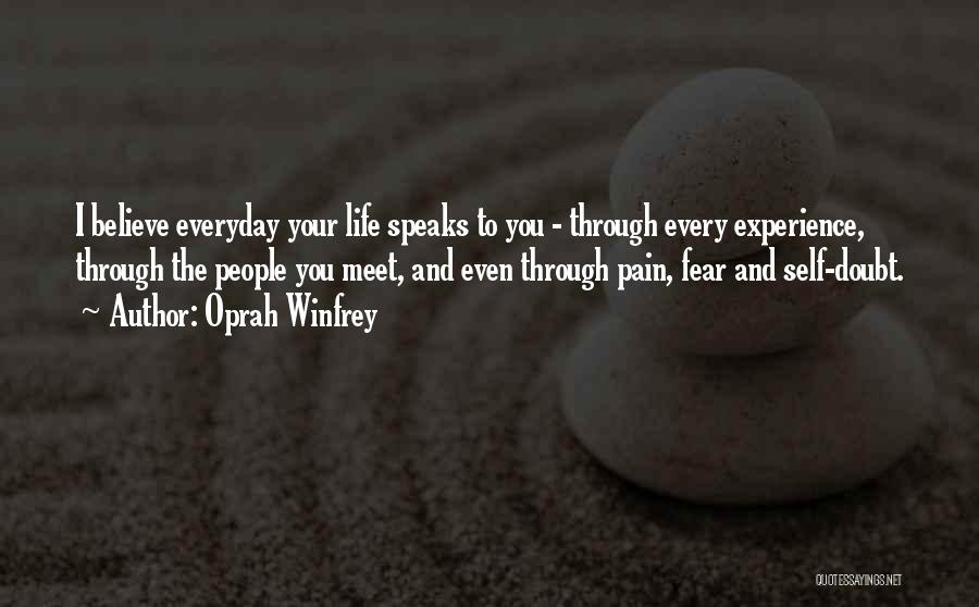 top experience speaks quotes sayings