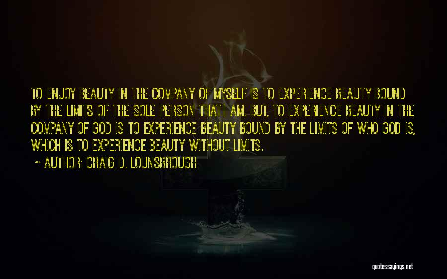 Experiences In Life Quotes By Craig D. Lounsbrough