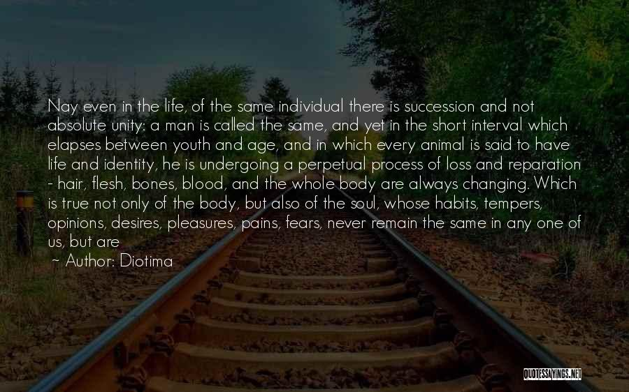 Experiences In Life Quotes By Diotima