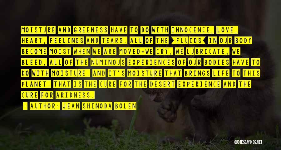 Experiences In Life Quotes By Jean Shinoda Bolen