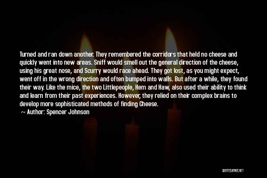 Experiences In Life Quotes By Spencer Johnson