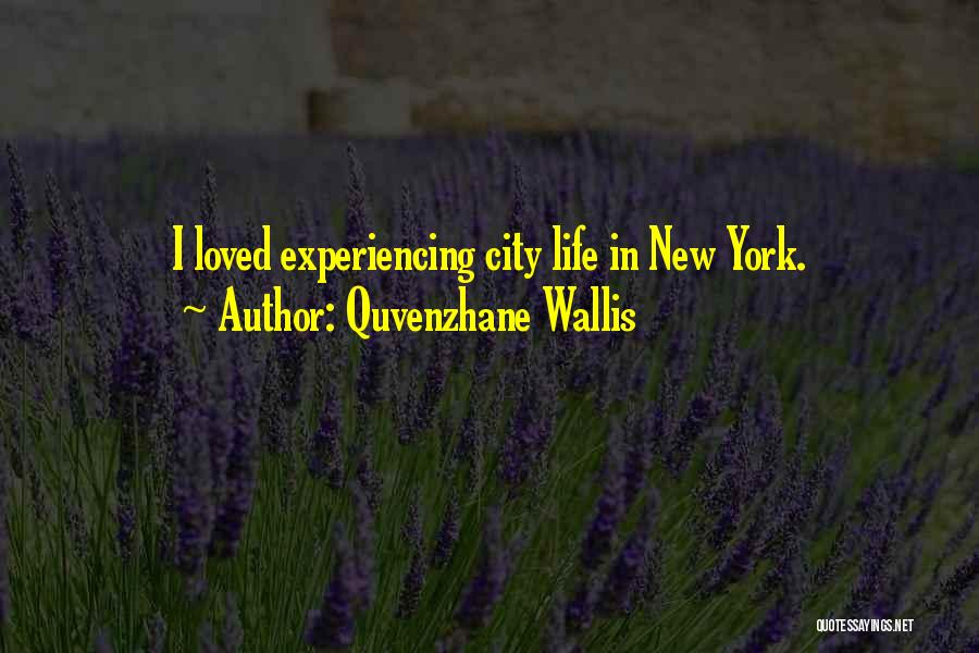 Experiencing New Things Quotes By Quvenzhane Wallis