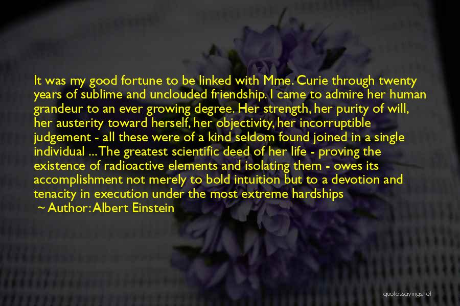 Experimental Life Quotes By Albert Einstein