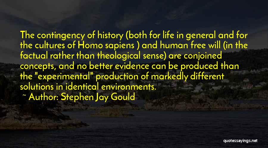 Experimental Life Quotes By Stephen Jay Gould