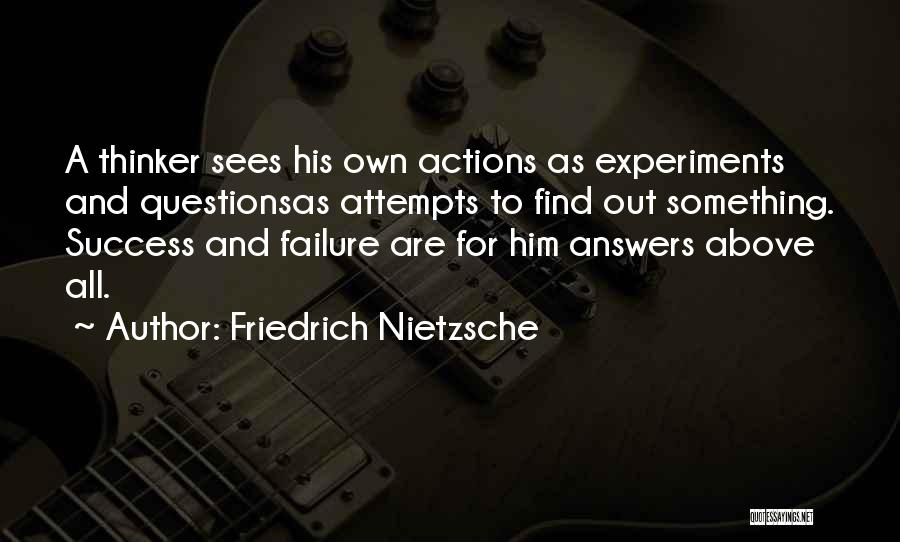 Experiments With Truth Quotes By Friedrich Nietzsche