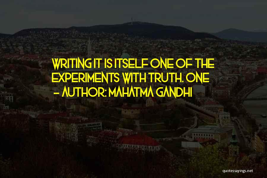 Experiments With Truth Quotes By Mahatma Gandhi