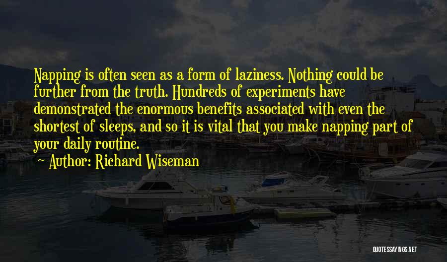 Experiments With Truth Quotes By Richard Wiseman