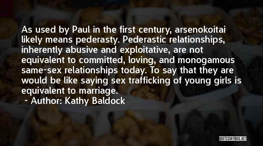 Exploitative Quotes By Kathy Baldock