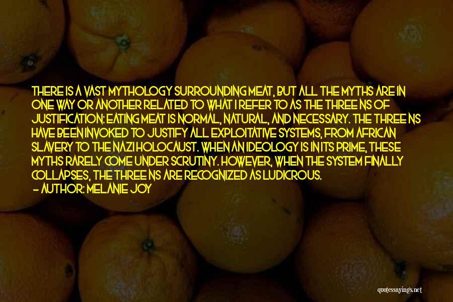Exploitative Quotes By Melanie Joy