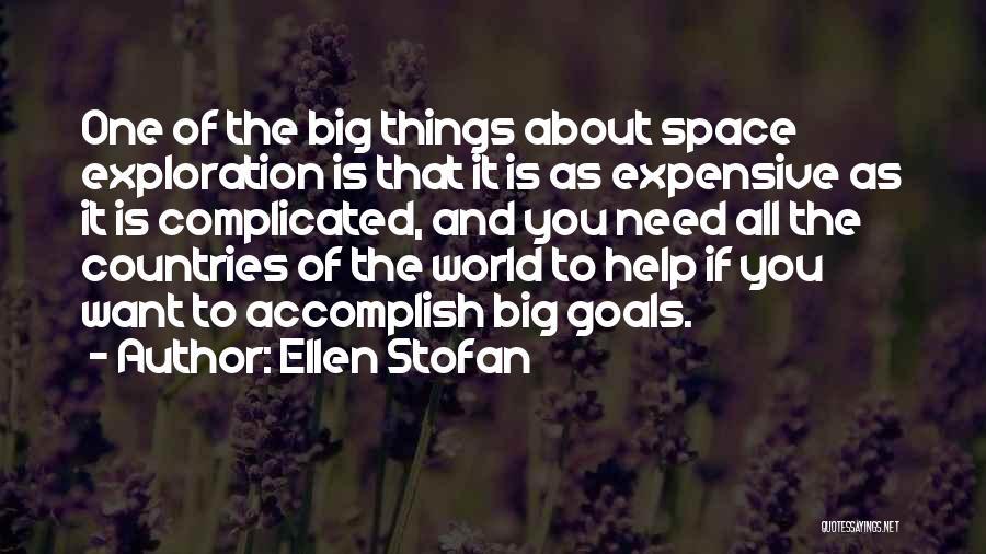 Exploration Of Space Quotes By Ellen Stofan